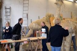 2011 Strohskulpturenbau