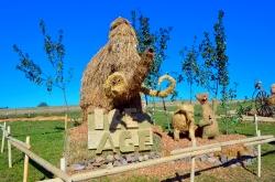 2015 Strohskulpturen Impressionen